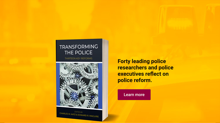 Forty leading police researchers and police executives reflect on police reform. Learn more.